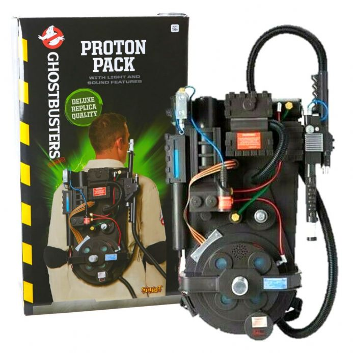Spirit Halloween Ghostbusters Replica Proton Pack | Buy now at The G33Kery - UK Stock - Fast Delivery